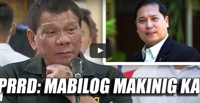 KINABAHAN! Duterte may Mabigat na Mensahe kay Ilo-ilo Mayor Mabilog at Nag-viral