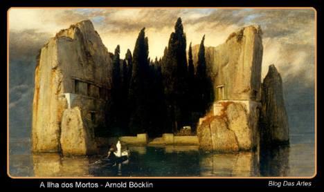 A Ilha dos Mortos, do pintor simbolista suíço Arnold Böcklin.