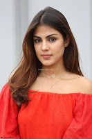 Rhea Chakraborty in Red Crop Top and Denim Shorts Spicy Pics ~  Exclusive 317.JPG