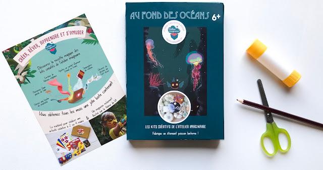 Kit créatif de l'Atelier Imaginaire au fond des océans
