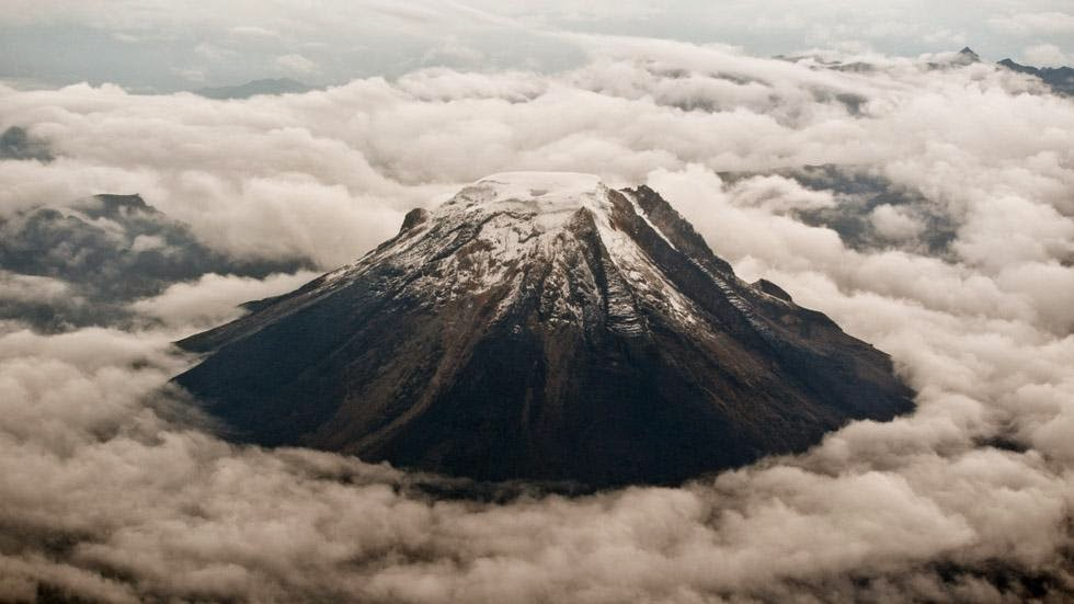 17. Nevado del Tolima, Colombia - 50 Stunning Aerials That Will Make You See the World in New Ways (PHOTOS)