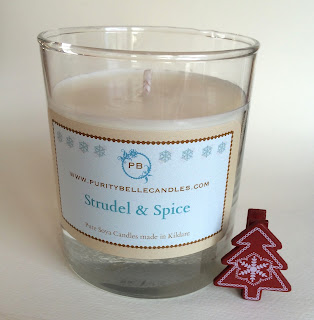 Strudel & Spice Luxury Jar Candle by Purity Belle Candles