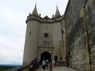 Entrada al Castillo de Grignan.