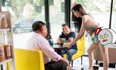 WOW, Pria ini Memperkerjakan Wanita yang Nyaris Tanpa Busana, Fotonya Bikin Pria Meleleh