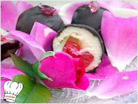 Σοκολατάκια Marzipan γεμιστά!!! - by https://syntages-faghtwn.blogspot.gr
