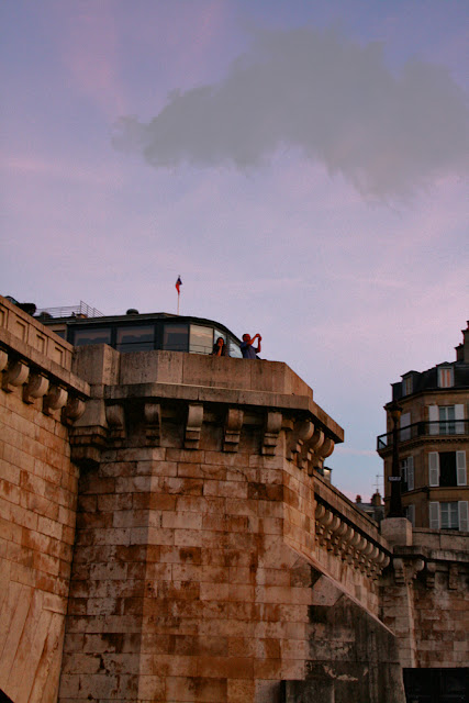 Pont Neuf. Seine. Paris. Мост Нёф. Сена. Париж.