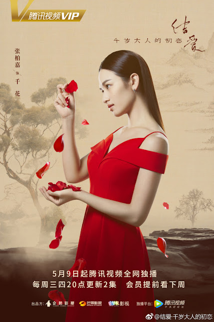 Zhang Bai Jia Character poster The Love Knot: His Excellency's First Love