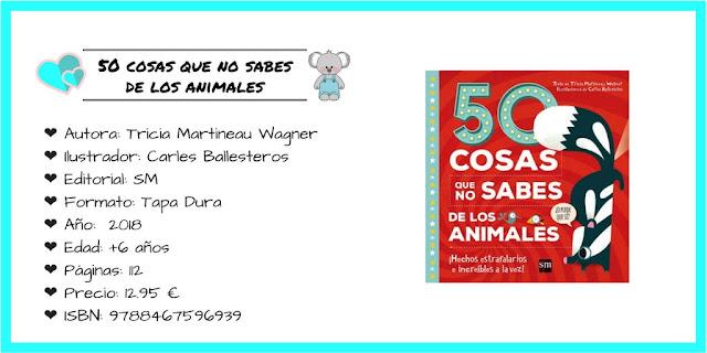 50 COSAS QUE NO SABES DE LOS ANIMALES