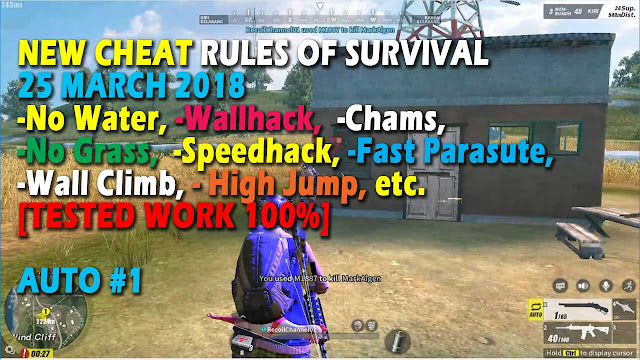 Cheat Rules of Survival Treonin 2.0 Update 25 Maret 2018