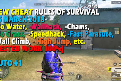 Cheat Rules of Survival Treonin 2.0 Update 25 Maret 2018