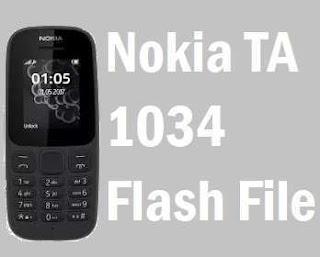Nokia TA-1034 Flash File