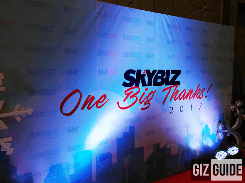 SKYBIZ extends One Big thanks to their Partners