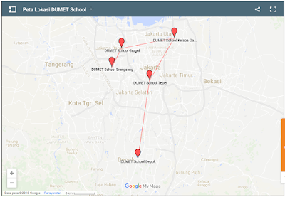 Peta Lokasi dari DUMET School