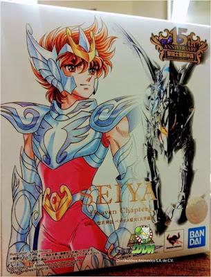 Michi Himeno adornará la caja del Seiya de Pegaso 〜Overture〜 15° Aniversario Myth Cloth