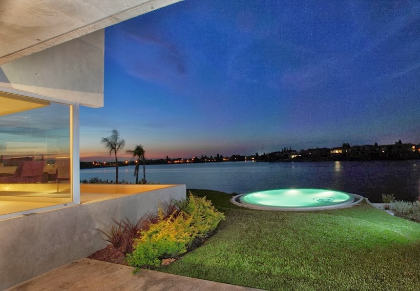 Lake from the Casa del Cabo by Andres Remy Arquitectos