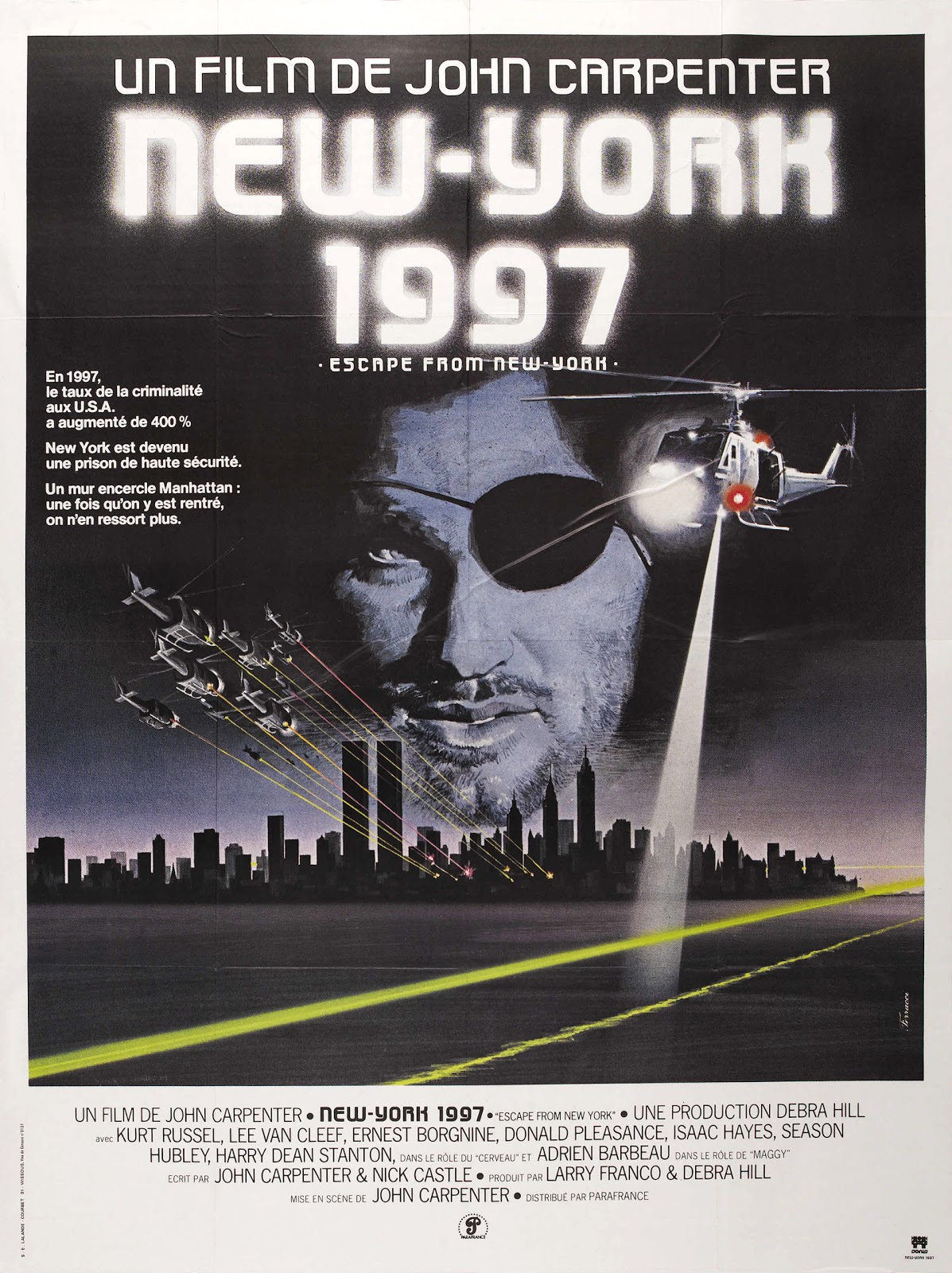 Movie Memorabilia Emporium: Escape From New York French ...