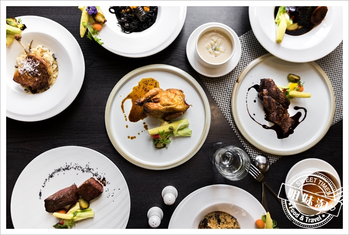 暗藏在月世界裡超乎預期的高級的西餐廳-花季度假飯店覓堂