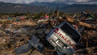 Doa dan Cara Agar Bisa Terhindar dari Tsunami dan Bencana (Palu Dongala)