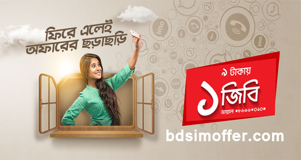 Robi Bondho SIM Win Back Offer