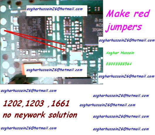 Nokia 1202 1203 1661 1662 no network solution | Mobile solution
