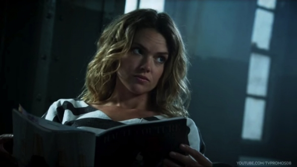 hot Erin Richards straight jacket psycho Barbara Kean Gotham