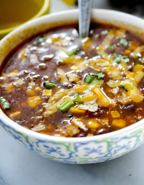 Weight Watchers Slow Cooker Taco Soup , 5 smart points