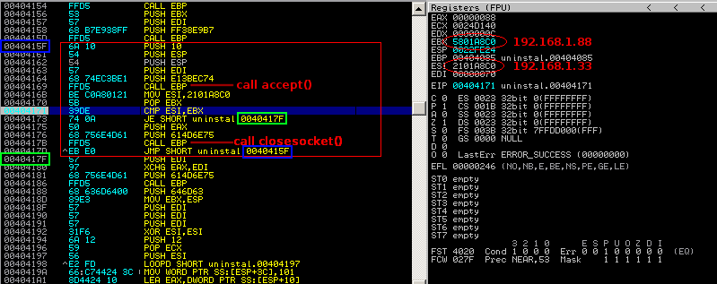 Shell is coming    : Don't touch my shell: ACL Bind Shellcode