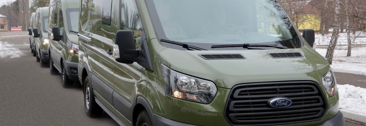 НВО Практика імпортувала Ford Transit для військових