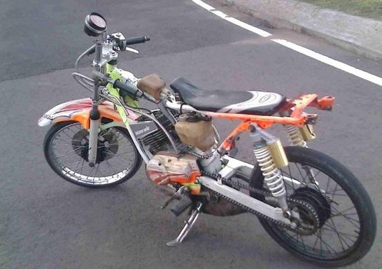 motor drag indonesia rx king