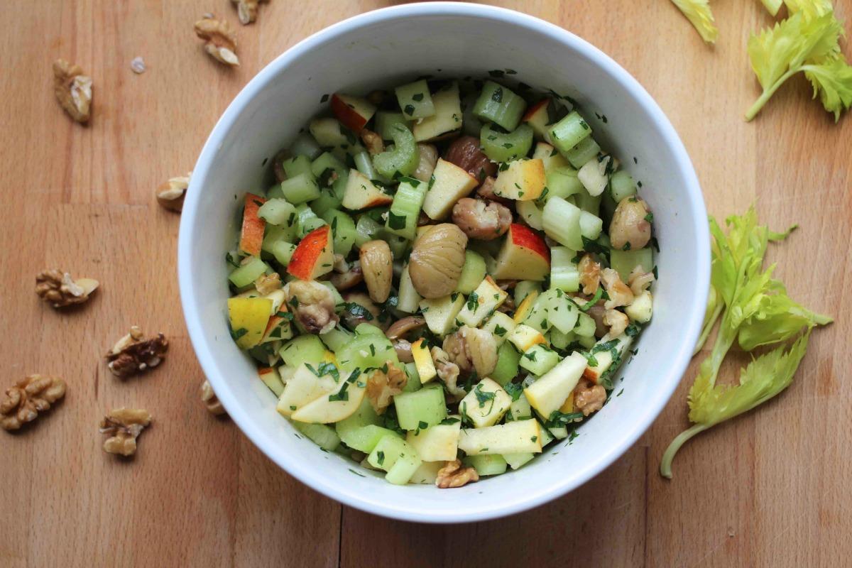 Maronen Sellerie Salat