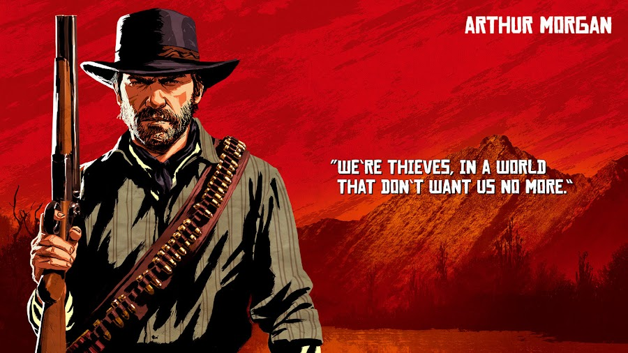 red dead redemption 2 van der linde gang arthur morgan