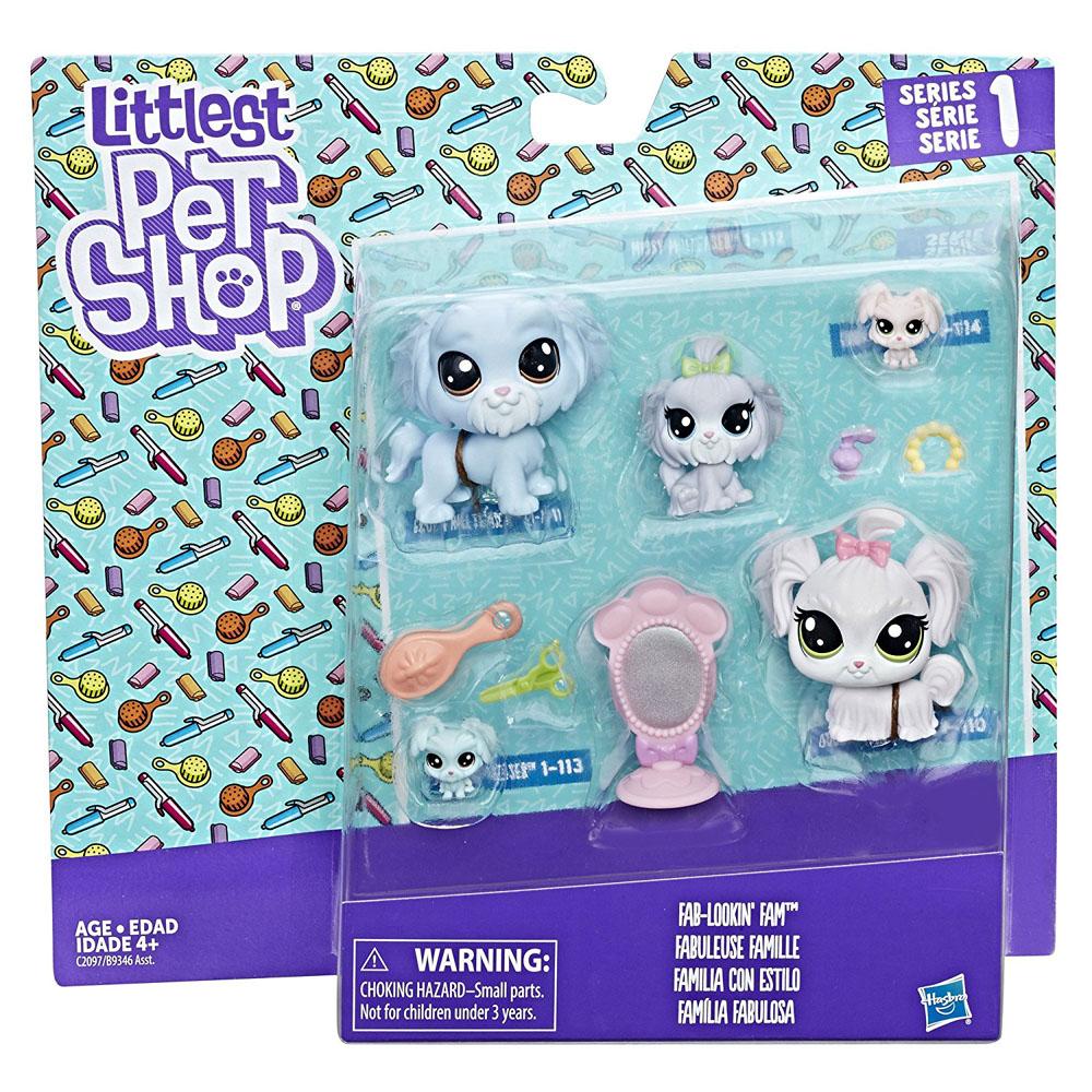 Littlest Pet Shop Series 1 Family Pack Duchess Malteaser 1 110