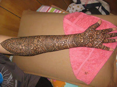 indian wedding mehndi designs full hand
