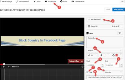 Youtube  Videos Me Subscribe Button Kaise Lagye.