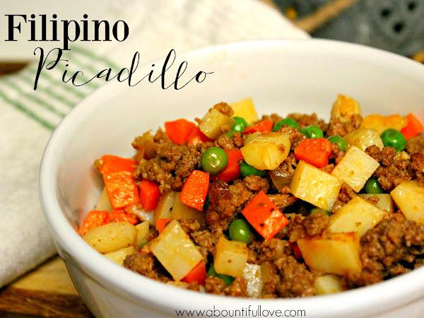 Filipino Picadillo