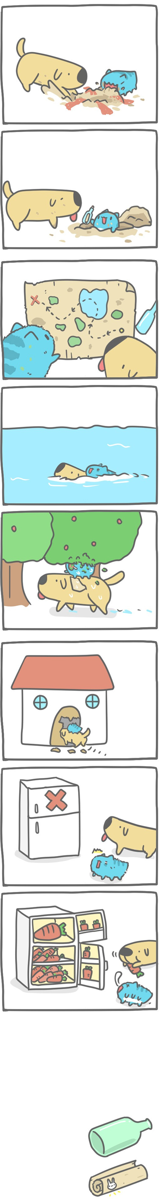 Truyện Mìn Lèo #96: Đi tìm kho báu