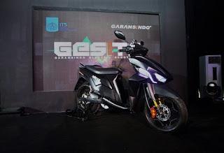 Motor Listrik buatan Indonesia hanya perlu 1 liter untuk jarak 100 km