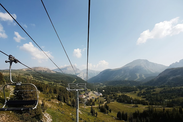 Banff Sunshine Village - Chairlift