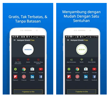 Aplikasi VPN Gratis Terbaik dan Cepat Untuk Android