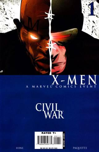 Civil War: X-Men #1 PDF
