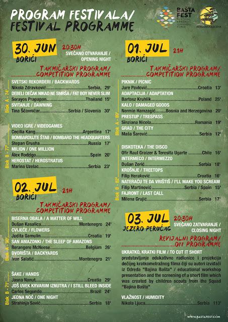 Filmski program festivala