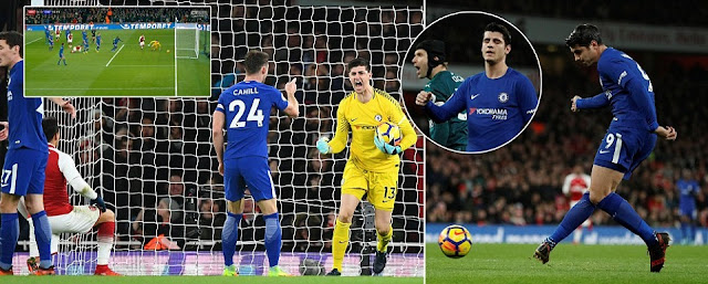 Arsenal 2-2 Chelsea Highlights (Hazard penalty put Chelsea back in the game after Wilshere Opener)