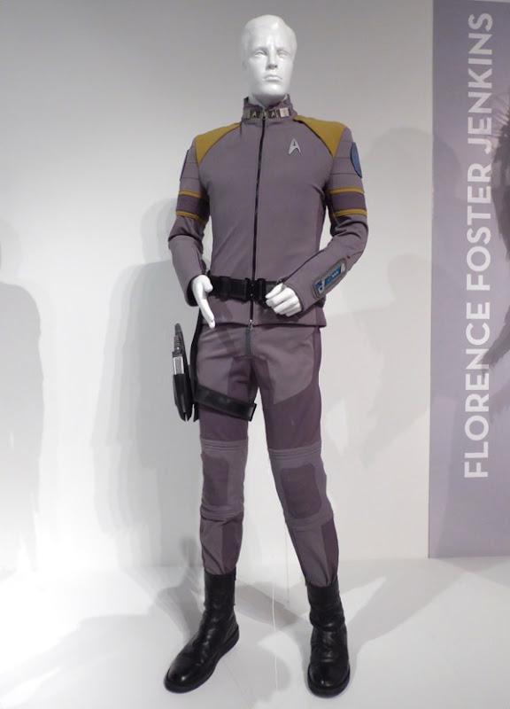 star trek beyond film costumes on display