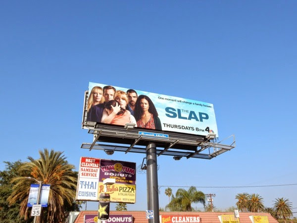 The Slap billboard