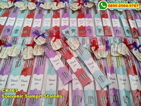 Harga Souvenir Sumpit Stainlis