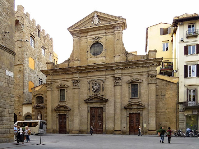 Church of Santa Trinita, Holy Trinity, via de' Tornabuoni, Florence