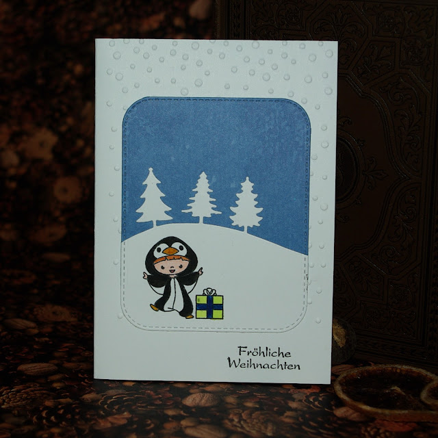 [DIY] All In Onesie Christmas Card  All In Onesie Weihnachtskarte