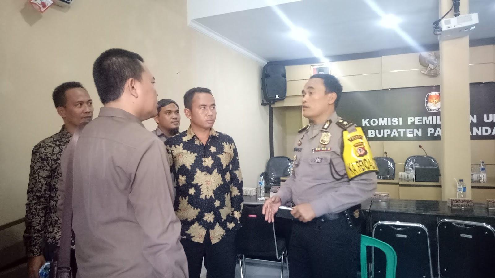 KPU Kabupaten Pangandaran Tanggapi Dugaan Kurang Koordinasi