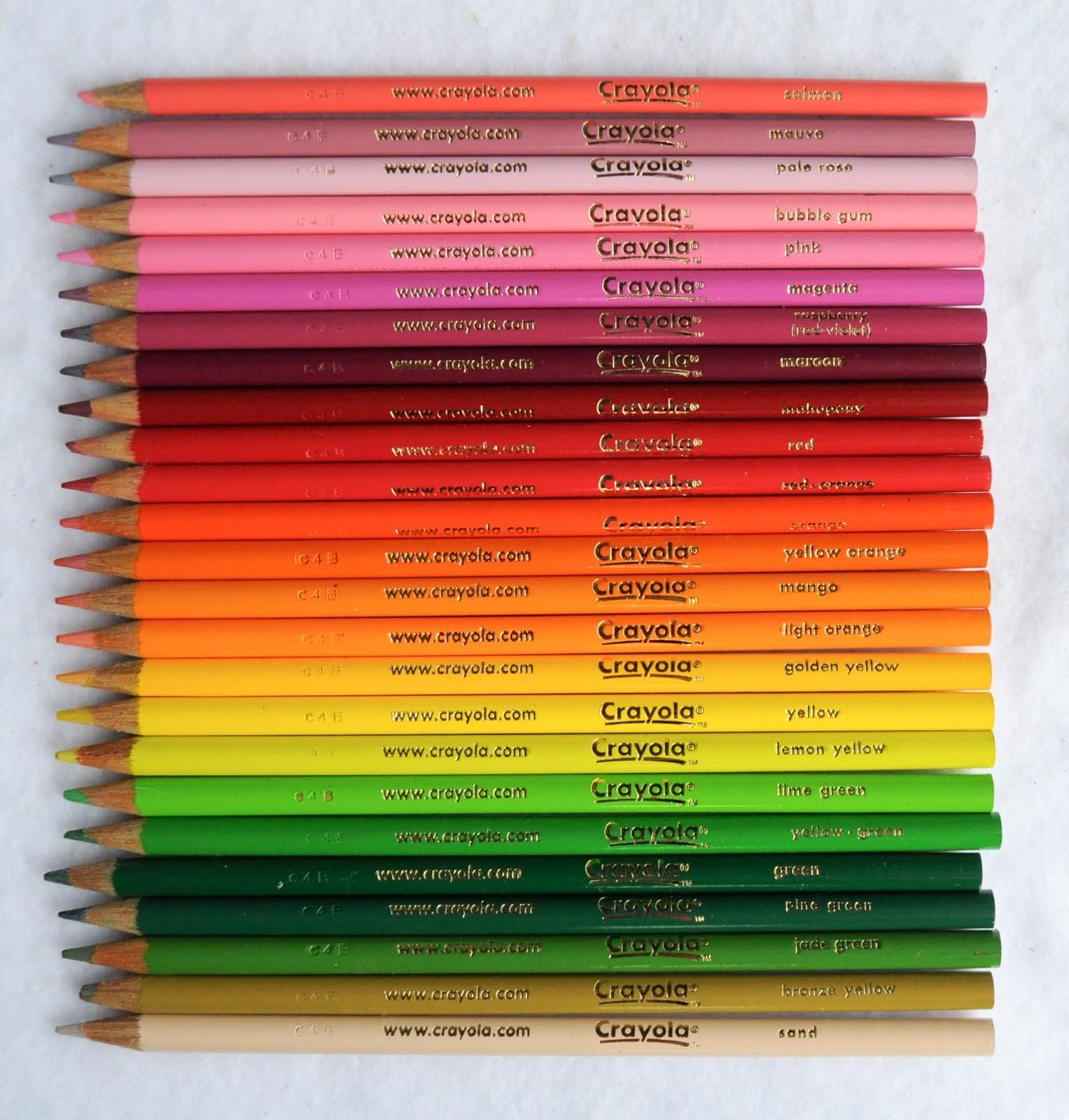 2002 50 colored pencils