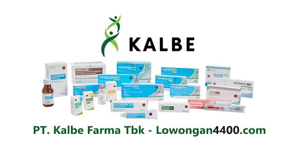 Lowongan Kerja PT Kalbe Farma Manufacturing (Kalbe Farma Tbk) Terbaru